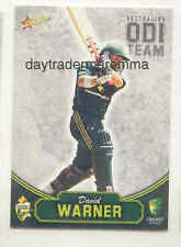 David Warner Cricket Trading Cards