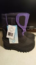 KIDS SIZE 10 SNOWBOOTS FROM COLDFRONT TECHWEAR. (NEW WITH TAGS)