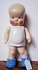 """Vintage Horsman Hebee Composition Doll 10.5"""" Very Good"""