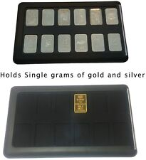 Empty Element Card Gold Bullion Case for Silver Platinum & Gold Single Gram Bars