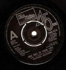 MICHAEL JACKSON One Day In Your Life Vinyl 7 Inch Tamla Motown TMG 976 1981 EX