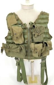 CWU-33/P22P-18 Survival Vest US Army Navy Helicopter MOLLE/PALS 7 Pouches STABO