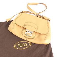 TOD´S Handtasche ECHT LEDER Damen beige Tasche Leather Bag