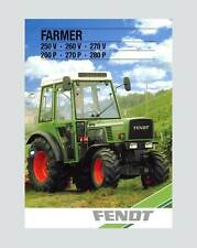Fendt Farmer 250V 260 V  270 V  260 P  270 P  280 P Schlepper Original 1988