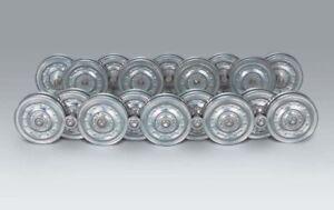 Taigen late pattern metal road wheels for Heng Long/Taigen Tiger 1 1/16 scale