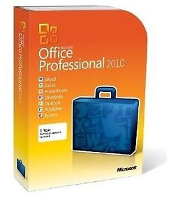 Microsoft Office Professional 2010 New Factory Sealed
