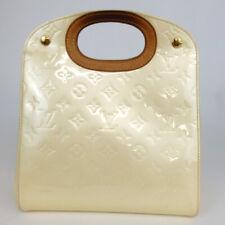 Authentic LOUIS VUITTON M91378 Monogram Vernis Maple Drive LM0065 Handbag Pa...