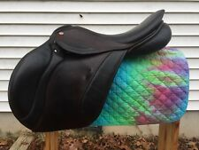 "18"" 31cm MW/W Tree Courbette Vision XL Close Contact Jump Saddle Two Tone"