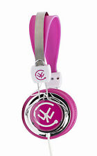 Urbanz ZIP Portable On Ear DJ Headphones for iPod iPhone MP3 DVD TV - Pink