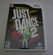 Just Dance 2 (Wii, 2010) Game Looks Brand New! Rare