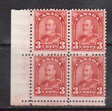 Canada #167 Mint Plate #2 LL Block