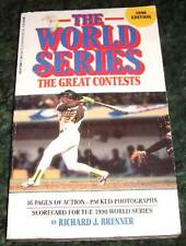 The World Series Greatest Contests Major League Baseball Book 1990