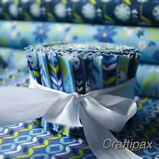 Fabric Jelly Roll  20 fabric strips 100 % Cotton Fabric Freedom Quilting Patchwo