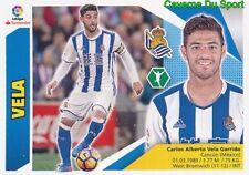 14 CARLOS VELA MEXICO REAL SOCIEDAD LOS ANGELES.FC STICKER LIGA 2018 PANINI