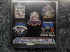 new york yankees pin set from 2000 /only 1000 made