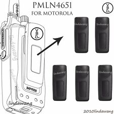 5x Belt Clip Pmln4651A for Motorola Dp3400 Dp3401 Dp3600 Dp3601 Portable Radio