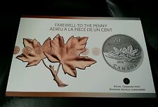 Canada - 20 Dollars - $20 for $20 - Farewell to Penny (2012) - Card & COA Only