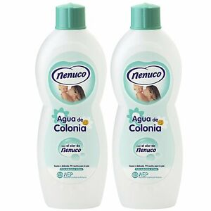 2 Nenuco Baby Cologne Agua De Colonia 20oz./600ml