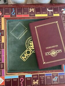 Franklin Mint Monopoly Board Game 1991 The Collector's Edition (check Pictures)