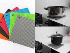 Silicone Trivet Mat Heat Resistant Pan Holder Iron Non Slip Multi Use