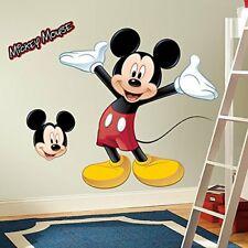New listing Mickey Mouse Grande Disney Calcomanias Para Pared De Cuarto De Bebe Bebes Niños