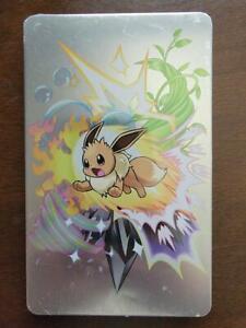 Pokemon Let's Go Pikachu Eevee Nintendo Switch EMPTY CASE Steelbook Case