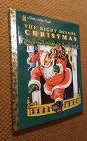 Little Golden Book: The Night Before Christmas by Clement C. Moore (2011, Hardc…