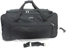 """31"""" Large Travel Luggage Wheeled Trolley Holdall Suitcase Duffel Sports Bag 123L"""