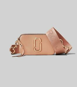 BNWT MARC JACOBS SNAPSHOT BAG SUNKISSED RRP $600 - EXPRESS