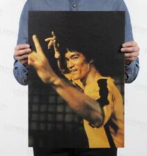Bruce Lee/ nostalgic classic star posters / kraft paper / Wall decoration