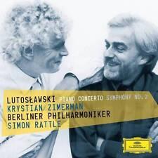 CD LUTOSŁAWSKI / LUTOSLAWSKI Piano Concerto Symphony No. 2 * ZIMERMAN RATTLE