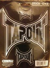 Tapout Stick Onz Vinyl Decal Car or Truck Window Sticker MMA Chroma #8717