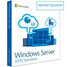 Microsoft Windows Server 2016 Standard Key Code 64Bit Genuine Activation License