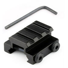 "1/2"" 3 Slots Low Riser 20mm WEAVER PICATINNY Rifle Base Mount Scope Mount Rail #"