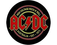 OFFICIAL LICENSED - AC/DC - HIGH VOLTAGE ROCK N ROLL SEW ON BACK PATCH METAL