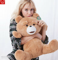 "24"" Teddy Bear Soft Plush Doll Movie Ted Stuffed Animal Toy Men'S Ted Bear Gifts"