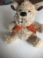 "Reeses Brown Reindeer Moose Plush 6"" Stuffed Animal Toy Galerie Candy Chocolate"