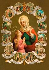 Heilige Anna Mutter Marias Schutzpatronin Witwen Arme St. Bütten Sankt A3 0097