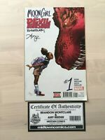 MOON GIRL AND DEVIL DINOSAUR COMICS lot (21 books) Including signed #1 and #32