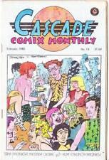 Cascade Comix Monthly #18 - 1980 Underground - Trina Robbins, Melinda Gebbie