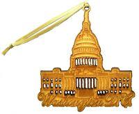 Washington DC The US Capital Christmas Tree Ornament