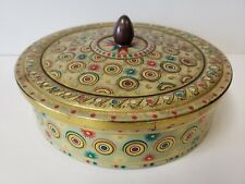 Vintage Collectible Made in Belgium Tin