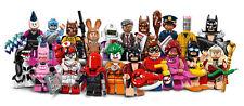 20 MINIFIGURES MINIFIGURINES LEGO 71017 BATMAN MOVIE 2017 SERIE COMPLETE NEUF