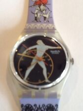 """SWATCH WATCH""""DISCOBOLUS"""" VERY RARE NEW COLLECTABLE MINT GK141 GREAT GIFT NIB"""