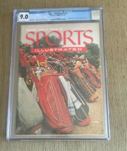 Sports illustrated Newsstand 1954 Second Issue CGC 9.0 GOLF BAGS w/Yankee cards