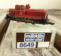 Märklin 8864 Spur Z mini-club Diesellok BR 260 417-1 DB Epoche 4/5 gebraucht