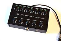 8 Band Sound Equalizer Echo Compressor to ICOM Radio 8 pin mic transceiver IC-