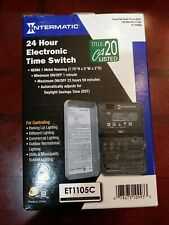 New INTERMATIC - ET1105C SPST 24 Hour Electronic Timer Switch