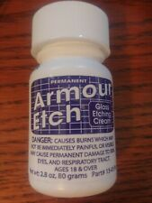 Armour Products Etch Glass Etching Cream Compound 2.8 oz  # 15-0150 New Sealed