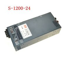 1pc S-1200-24 DC24V 50A 1200W Switching Power Supply For  LED Strip Light
